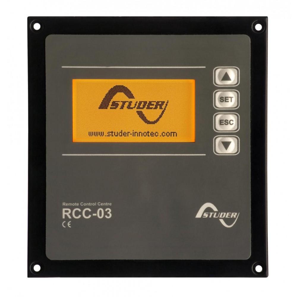 Системная панель управленияStuder RCC-03