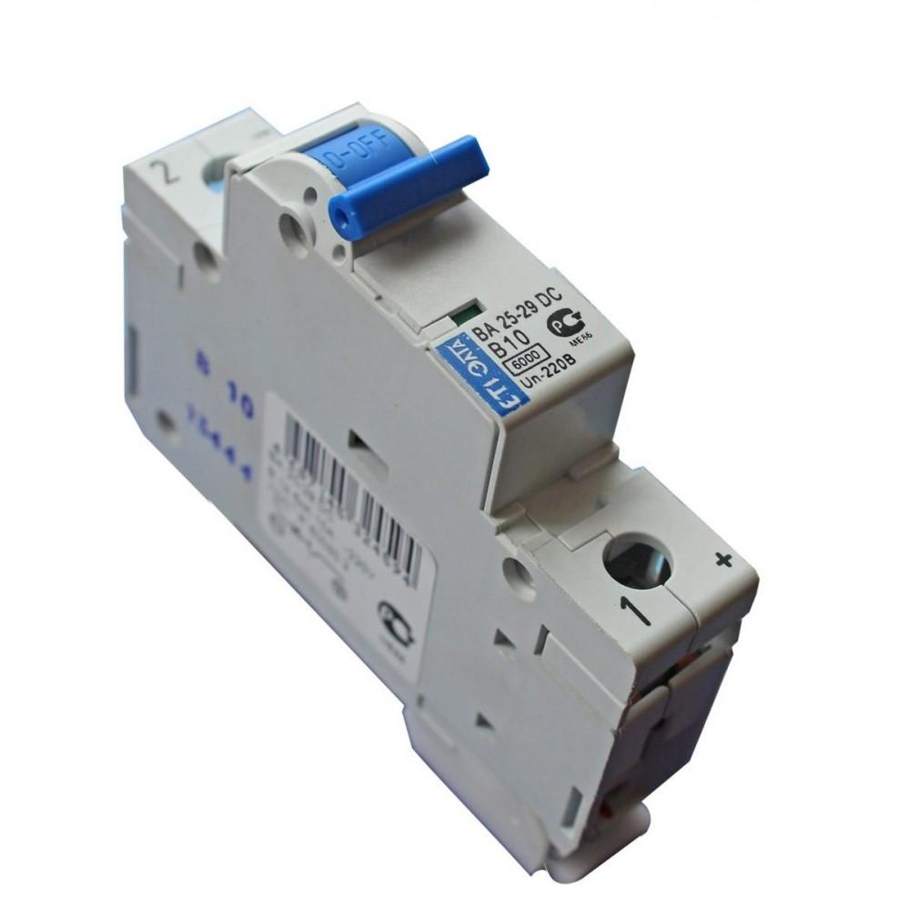 Автоматический выключатель DC ETIMAT 6A 220В