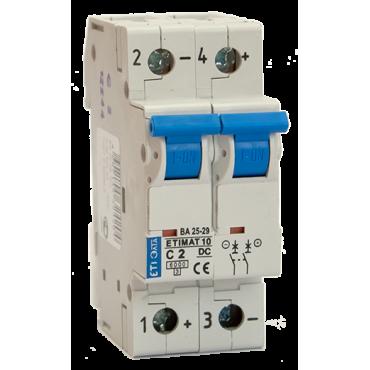 Автоматический выключатель DC ETIMAT 10A 440В