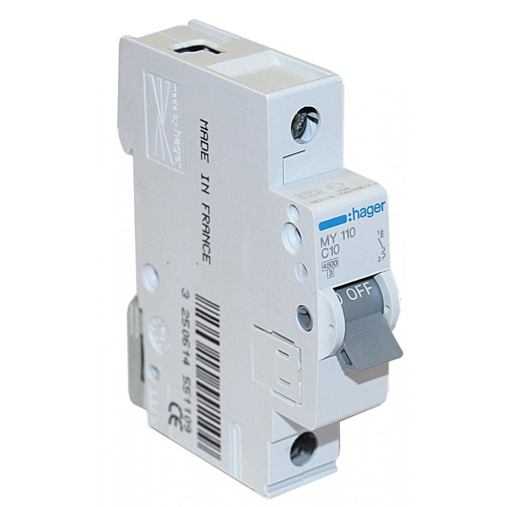 Hager MY163 63А Автоматический выключатель AC