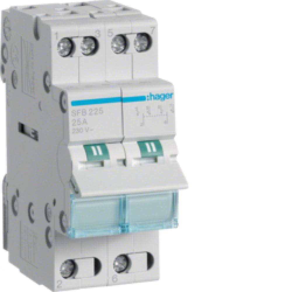 Переключатель модульный Hager SFB232 32A