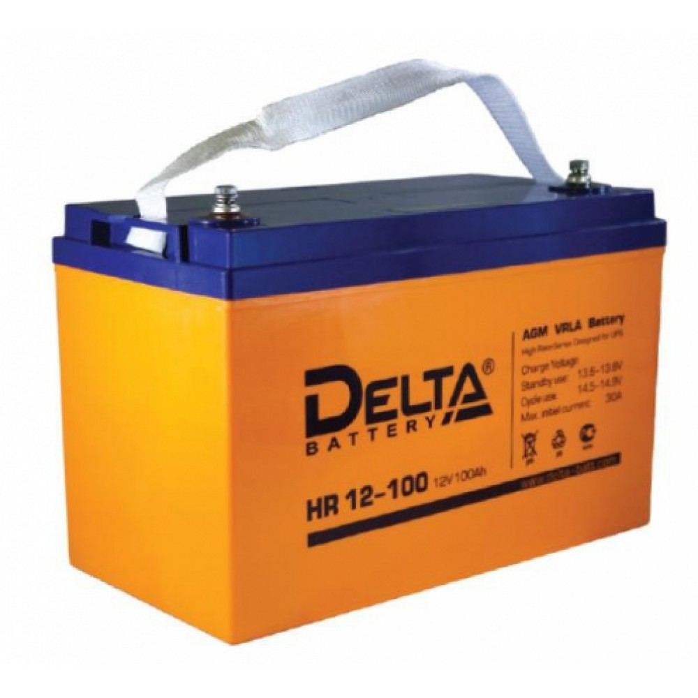 12В Аккумулятор Delta HRL 12-100, 100А*ч