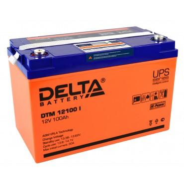12В Аккумулятор Delta GEL 12-100, 100А*ч