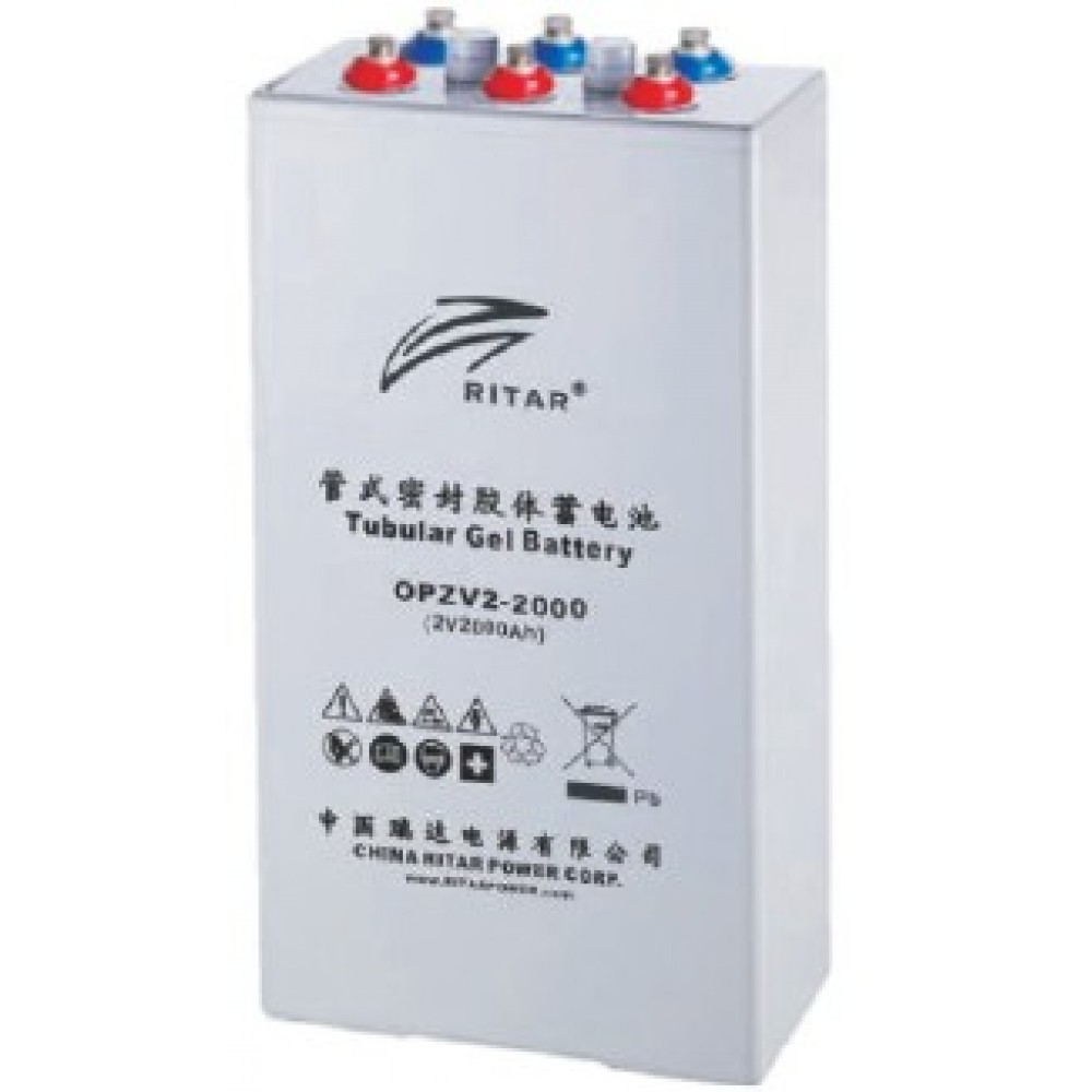 2В аккумулятор Prosolar OPzV2 2000, 2000 А*ч