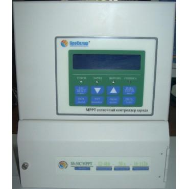 Контроллер заряда Prosolar SunStar MPPT SS-40CX 40А, АБ 12-48В, 240В на входе