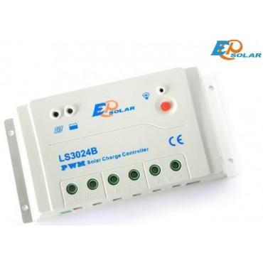 EP LS3024B 12/24В 30А Солнечный контроллер ШИМ