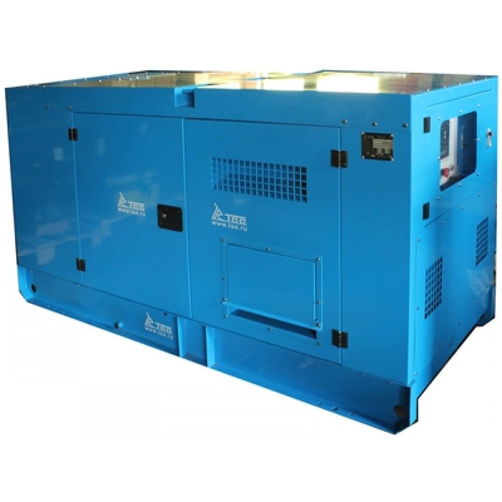 Дизельный генератор АД-50С-T400-1РПМ19 в кожухе