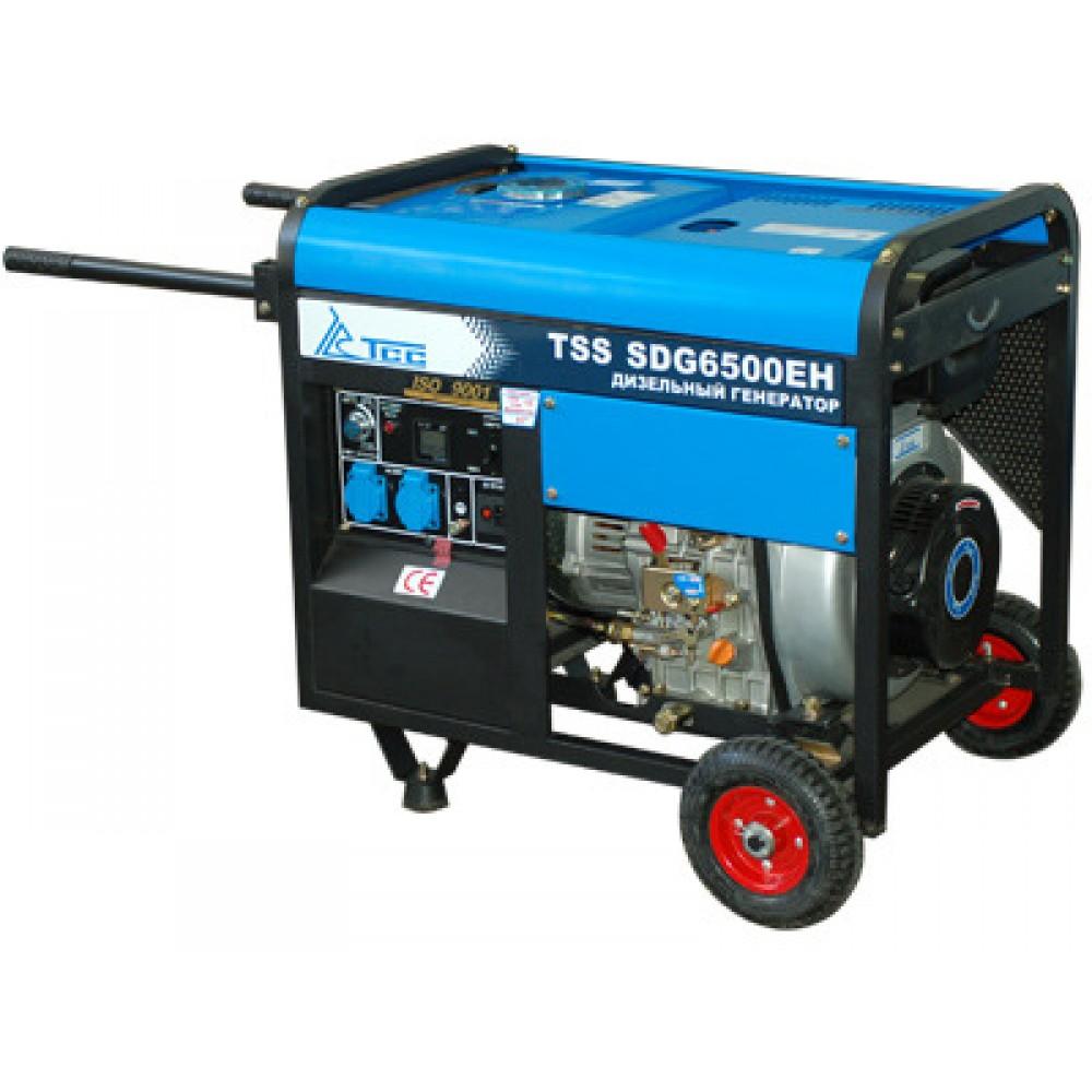 Дизельный генератор TSS SDG 6500EH