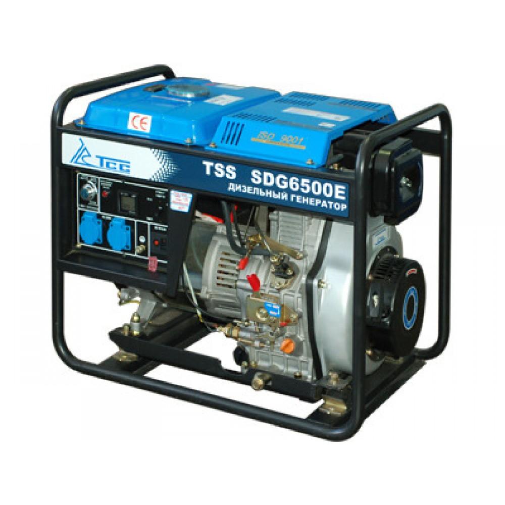 Дизельный генератор TSS SDG 6500EH3