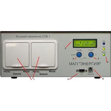 МАП-Энергия SIN Pro 1,3 кВт, Блок бесперебойного питания