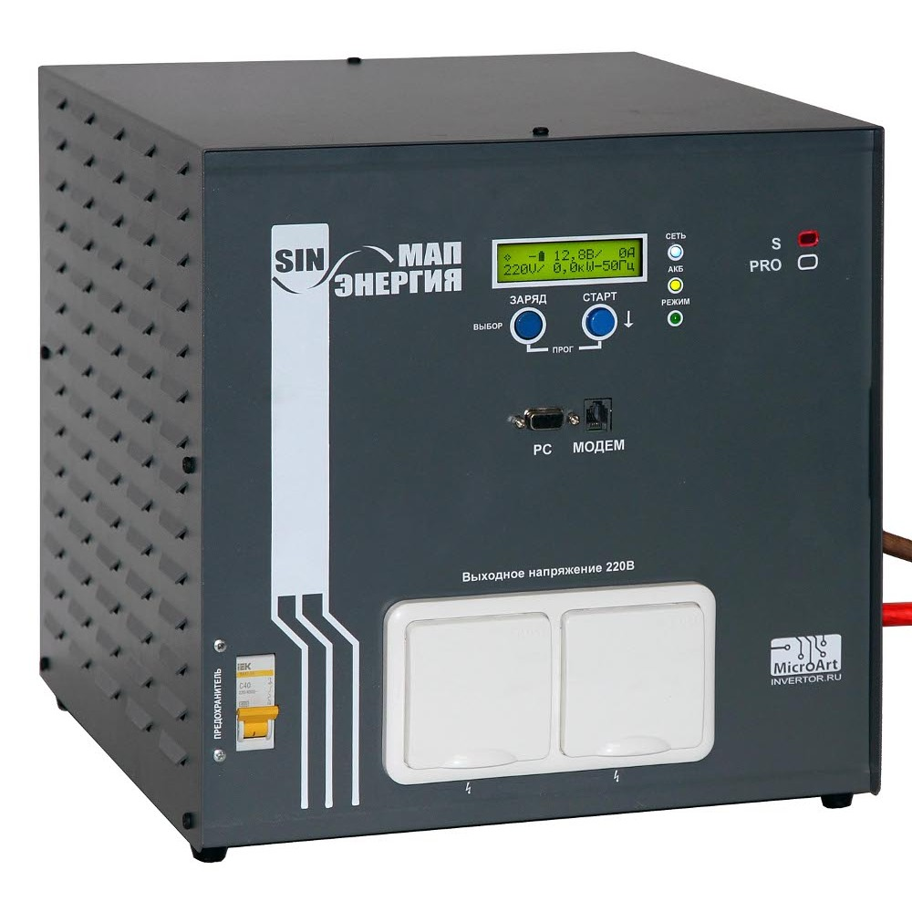 МАП-Энергия SIN Гибрид, 9 кВт Блок бесперебойного питания