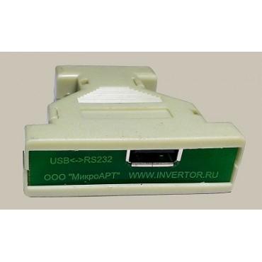 Гальванический развязанный конвертор USB – RS-232