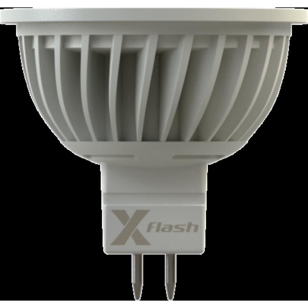 12В 3Вт Светодиодная лампа MR16-3х1W GU5.3