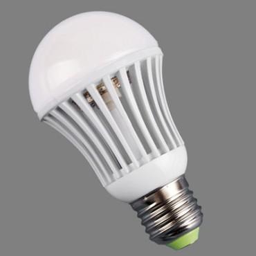 12В 9Вт Светодиодная лампа MCOB E27