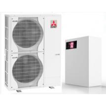 Воздух-вода тепловой насос Mitsubishi electric НВ-27МС-380В, 27 кВт
