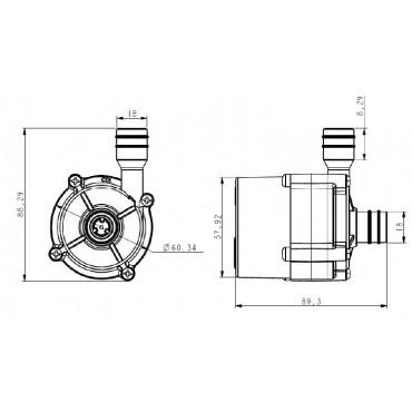 TL-C01H, насос циркуляционный DC 24В