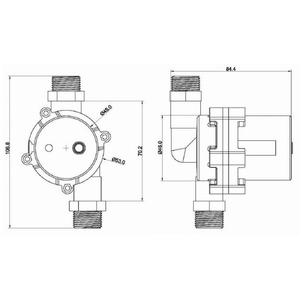 TS5-10PV насос циркуляционный DC 12В
