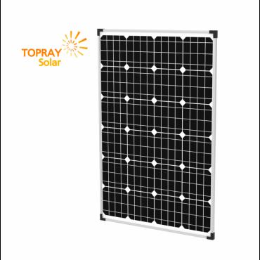 100 Вт TPS105S-100W 12В моно, фотоэлектрический модуль, TopRay Solar