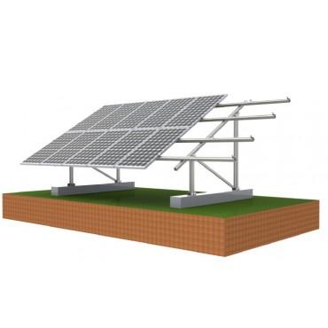 HOP-GM1 Комплект для монтажа 10 модулей на земле или крыше