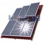 HOP Комплект для монтажа 8 модулей на наклонной крыше
