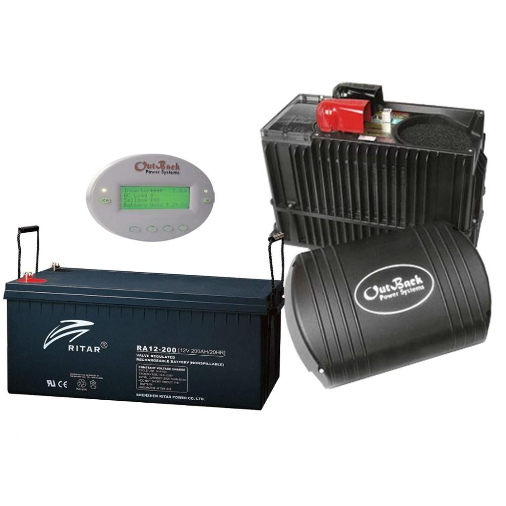 Система для резервного электроснабжения Outback 3 кВт