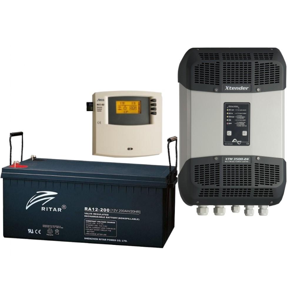 Система для резервного электроснабжения XTM 2,4 кВт