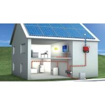 Сетевая ФЭС 3 кВт/15 кВт*ч с ограничением отдачи в сеть