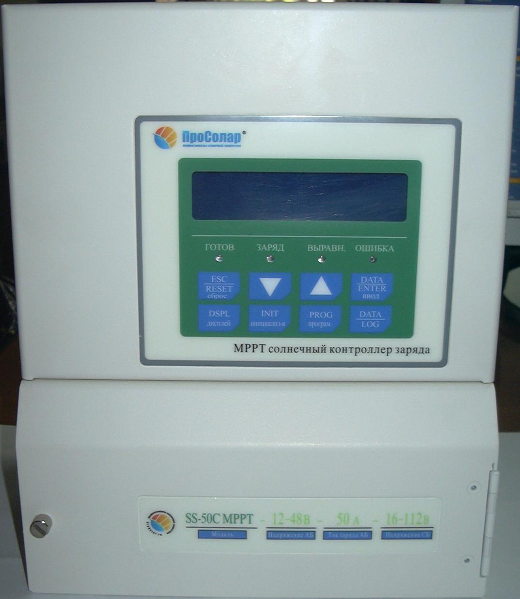 Солнечный контроллер Prosolar SunStar MPPT