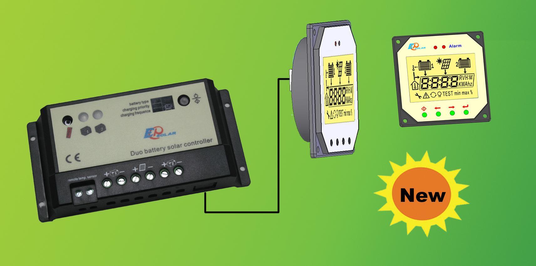 Контроллер заряда EPIP20-DB с дистанционной панелью управления