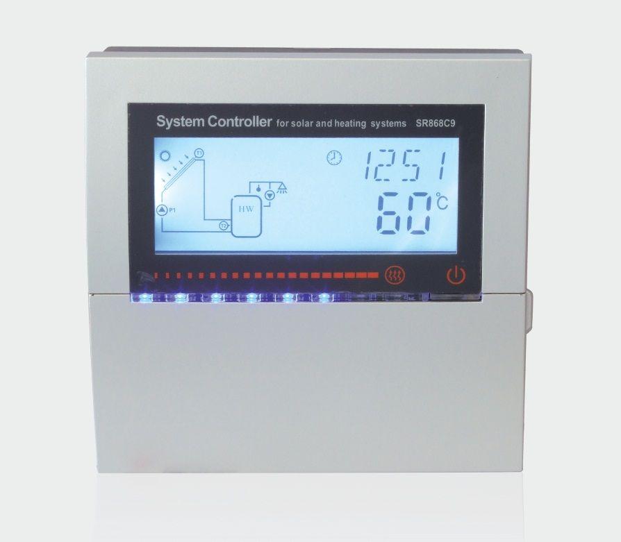 Тепловой контроллер для гелиосистем