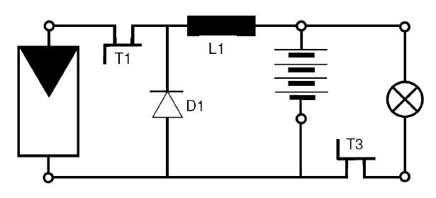 Топология MPPT контроллера