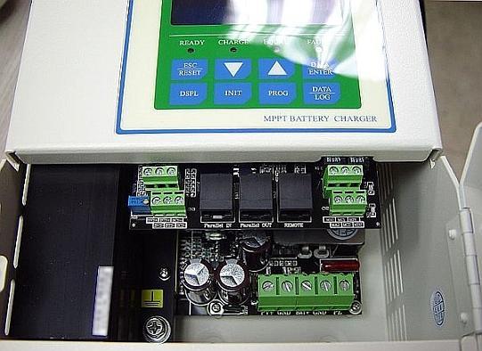Терминалы подключения контроллера SS MPPT
