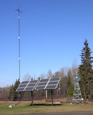 ветросолнечная электростанция