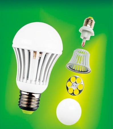 Светодиодная лампа MCOB