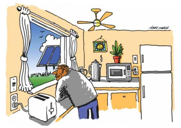 Электричество в доме всегда!