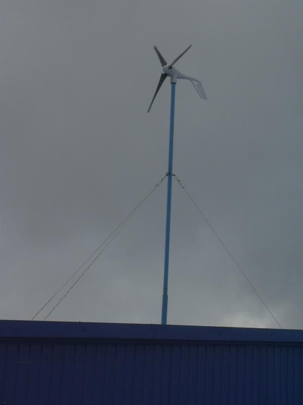 Ветроустановка AirX в Битце