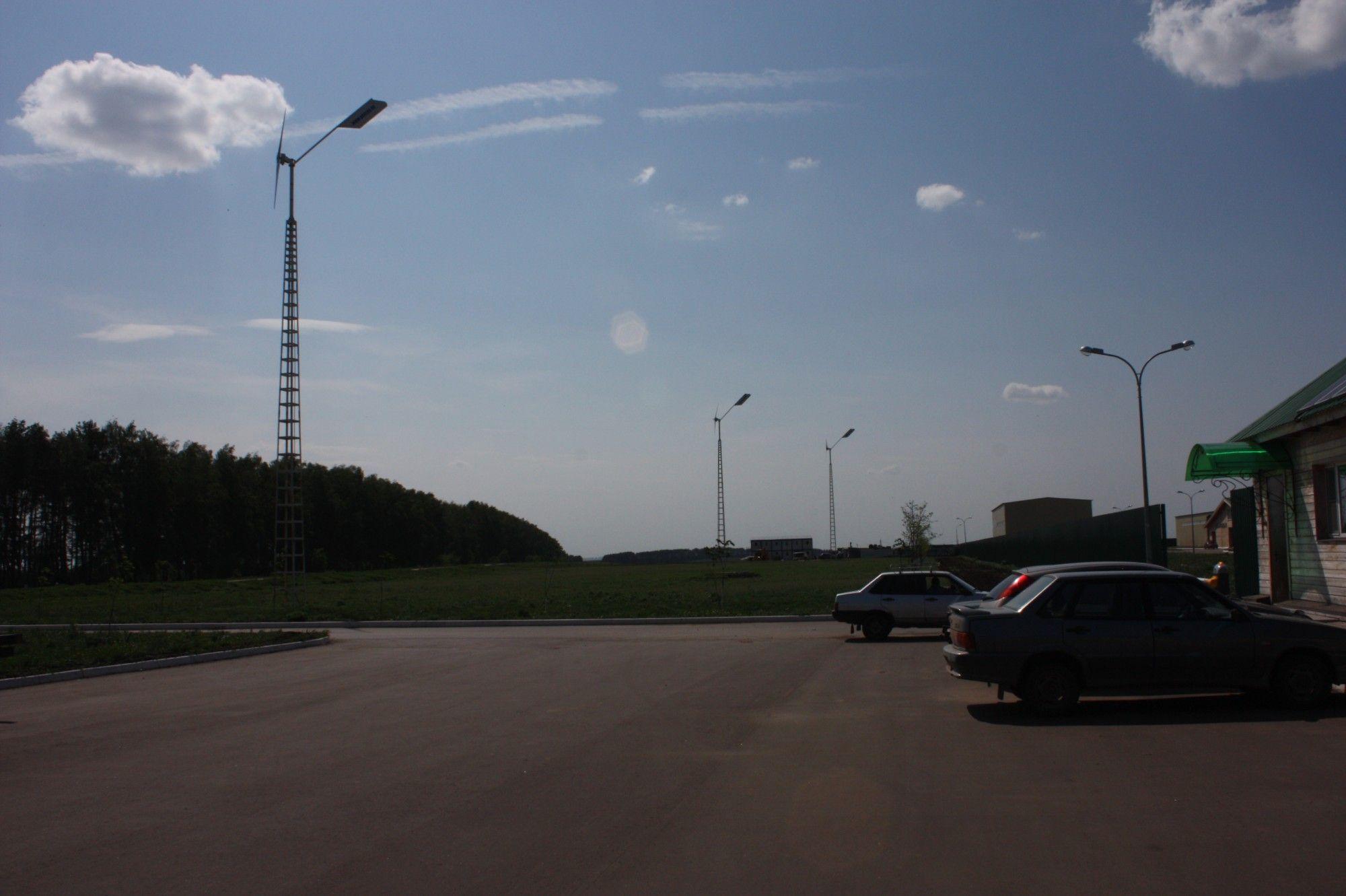 Ветроэлектрическая установка Бриз-5000