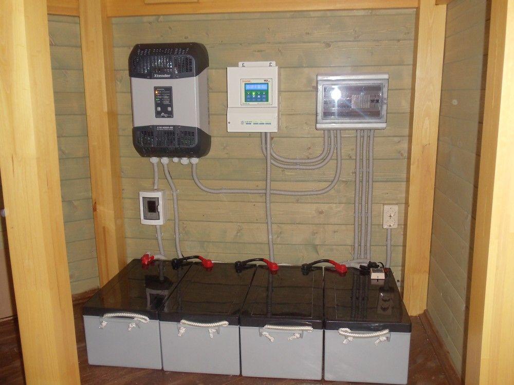 Система автономного электроснабжения на базе ББП Xantrex XW 4048