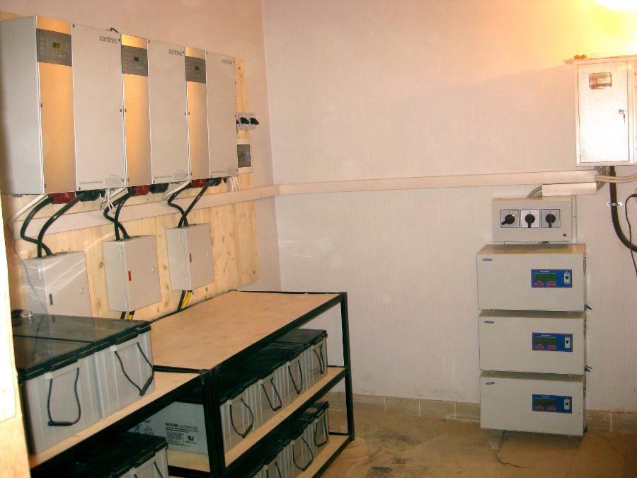 Система резервного электроснабжения на базе ББП Xantrex XW 6048
