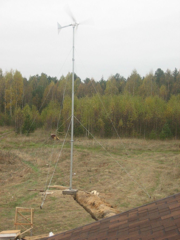 Ветроустановка 1 кВт