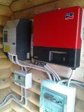 Трехфазная система резервного электроснабжения на базе ББП Studer Xtender XTH и фотоэлектрического инвертора SMA Sunny Boy