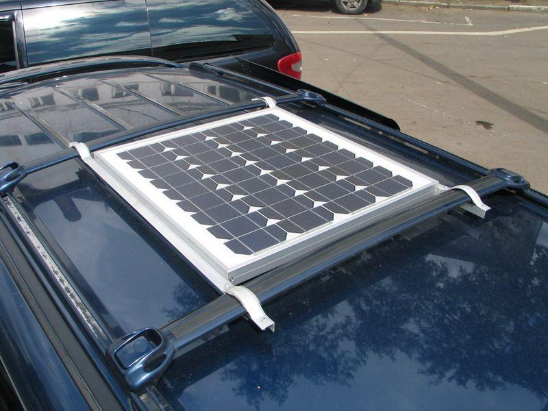 Солнечная батарея - вид сверху