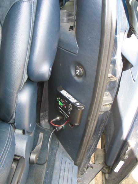 Место для контроллера и подключений