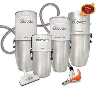 Встроенный пылесос DuoVAC