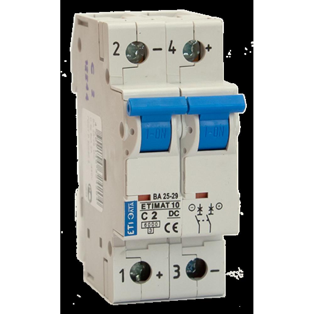 Автоматический выключатель DC ETIMAT 63A 440В