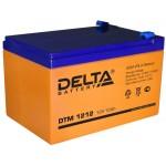 12 В Delta DTM 1212, Аккумулятор