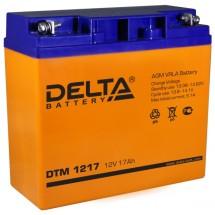 12 В Delta DTM 1217, Аккумулятор