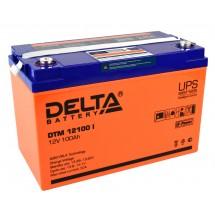 12В Delta GEL 12-100 100А*ч Аккумулятор AGM-гель