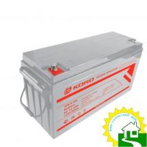 12В Аккумулятор  GL12-150, КОРД, 150 А*ч