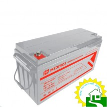 12В Аккумулятор  GP12-150, КОРД, 150 А*ч
